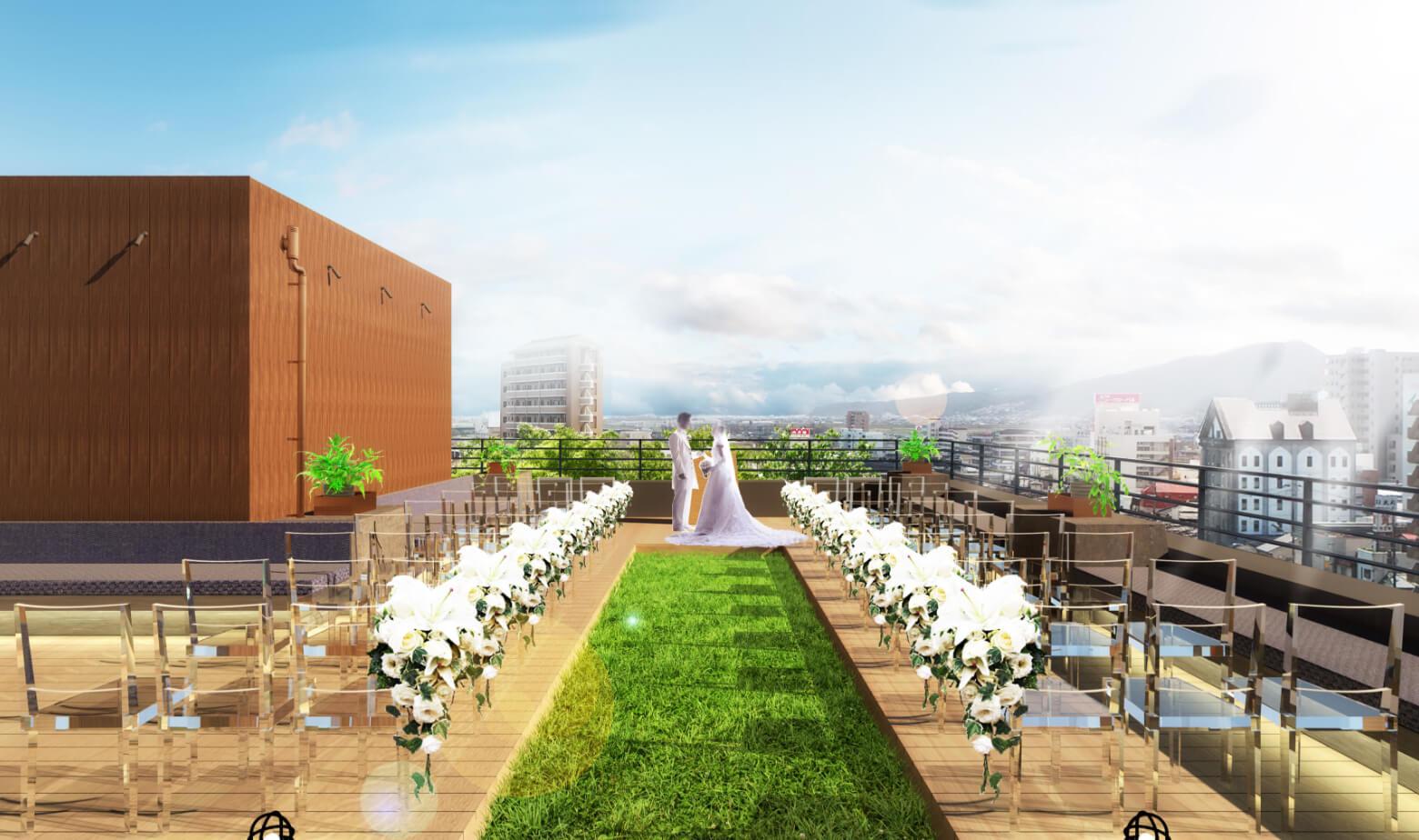 結婚式場会場イメージ